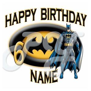 Other - Batman Custom Birthday Shirt